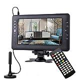 SOYAR (22,86 cm) TV numérique DVB-T2 9 pouces, batterie rechargeable TV...
