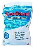 Zeo, Inc ZeoSand-50 ZeoSand Swimming Pool Sand Replacement, Alternative Filter Media, 50 P, White