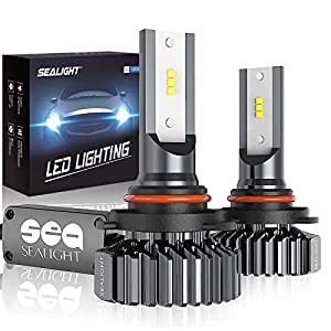 Increase your confidence while driving at night: The 9006 LED headlight bulb is 1.5x brighter than halogen bulbs, with pure white color light allowing you to see further and clearer for safer driving Save installation time: No tools needed to replace...
