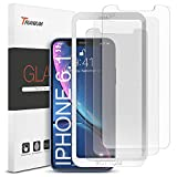 Trianium 3 Pack Glass Protector Compatible with iPhone 11 Screen Protector, iPhone XR Screen Protector Tempered Glass Film [6.1 Inch] HD Clarity 0.25mm with Installation Alignment Case Tray (3-Pack)