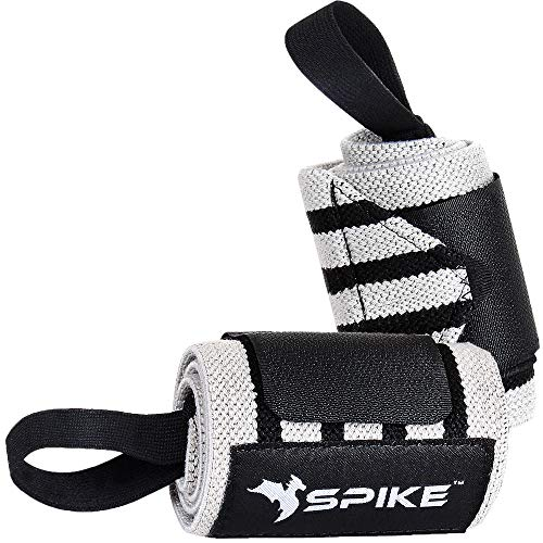 Spike Wrist Support Gym Band Strap for Weightlifting Pain Relief with Thumb Loop Grip for Both Men and Women