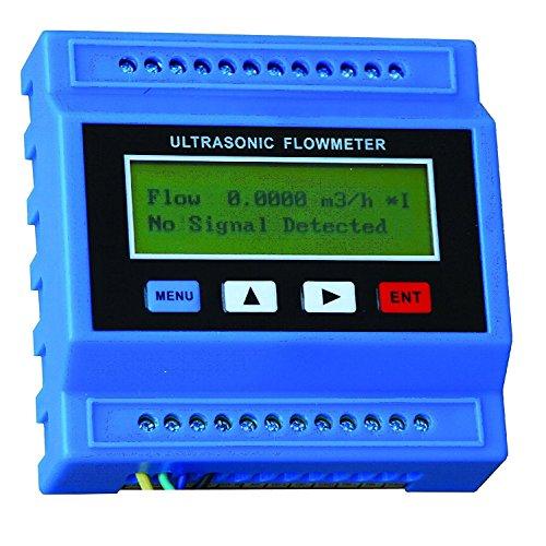TUF-2000M-TM-1 Water Ultrasonic Flow Meter Flowmeter for DN50-700mm Pipe Size -40-90℃