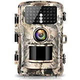 Campark Trail Camera 16MP 1080P 2.0' LCD Game & Hunting Camera with 42pcs IR LEDs Infrared Night...