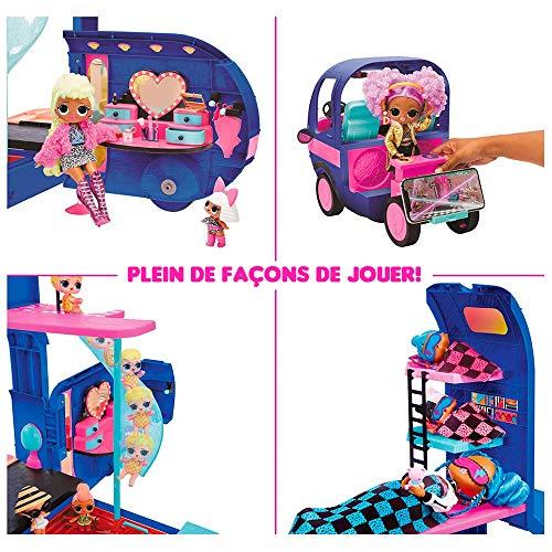 Image 4 - LOL Surprise 4 en1 Glamper Fashion Camper - Avec 55+ Surprises, 10+ aires de détente & Plus encore - Bleu électrique - OMG Série
