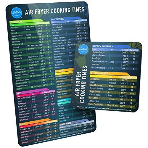 Lotteli Kitchen Air Fryer Magnetic Cheat Sheet Set