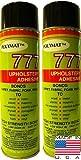 Marine Upholstery Glue: 2 CANS HIGH TACK Glue Polymat 777 Professional Grade