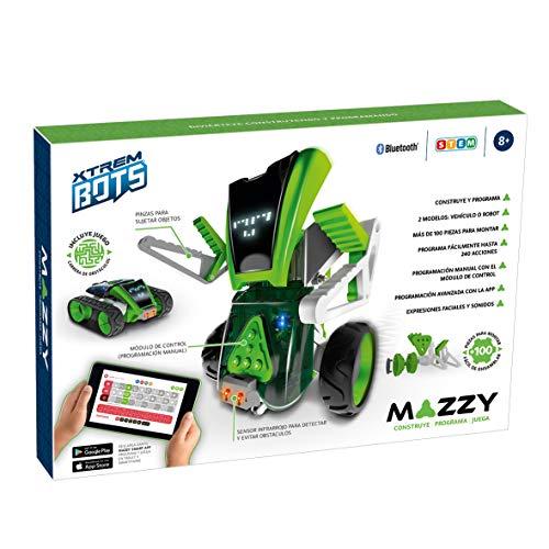 Mazzy - Xtrem Bots Robot Juguete para Montar, Kit Robotica, Juego...