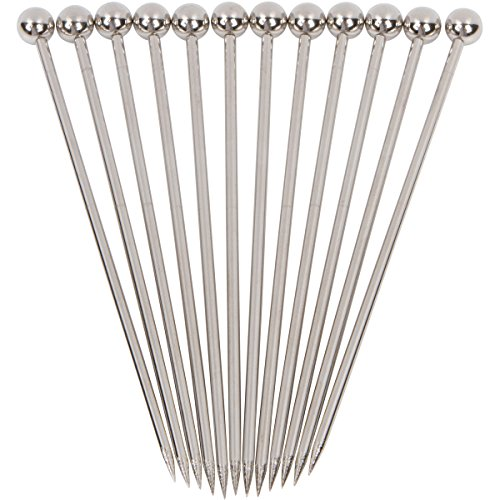 Stainless Steel Cocktail Picks Combo Pack