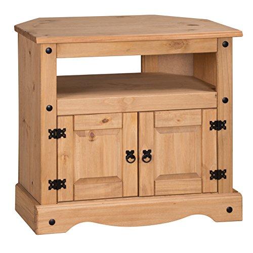 Mercer's Furniture, COR25, Mobile Ad Angolo Per Tv, Arancione, 85 x 43 x 79 cm