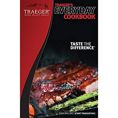 Traeger MSC106 Everyday BBQ Cookbook Grill Guide