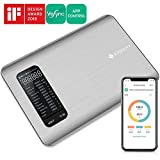 Etekcity Digital Kitchen Scale, Smart Food Scale with Nutritional Calculator for Keto, Macro, Calorie and Weight Loss-Bluetooth