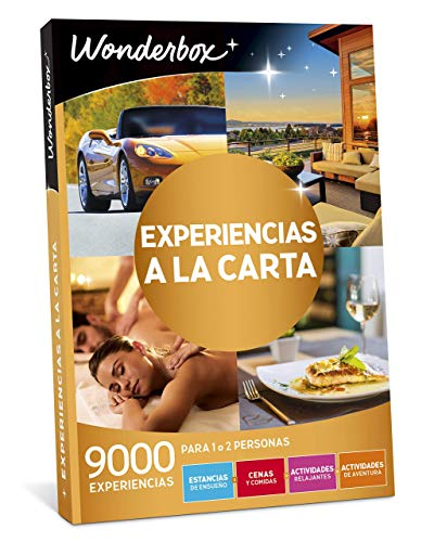 WONDERBOX - Regalo Original -EXPERIENCIAS A LA Carta- 9.000...