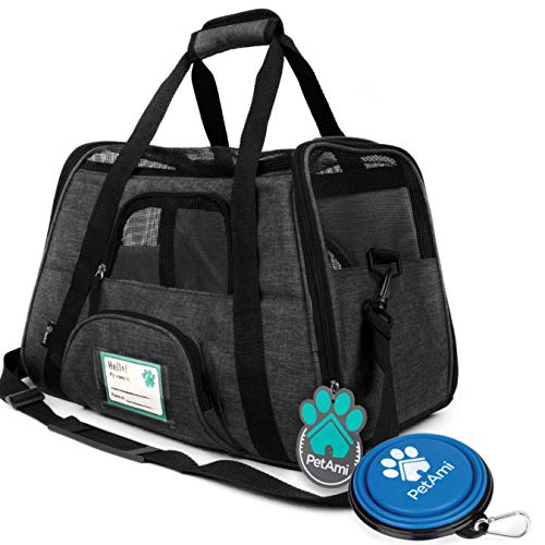 PetAmi Premium Airline Approved Soft-Sided Pet...