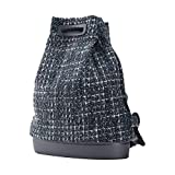 O Bag Soft - Mochila de tweed, color gris