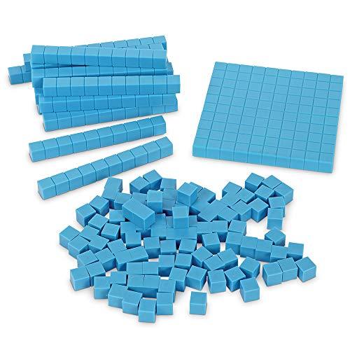 ラーニング リソーシズ(Learning Resources)  算数教材 プラスチック ベーステン ミニパック 121ピース入り...