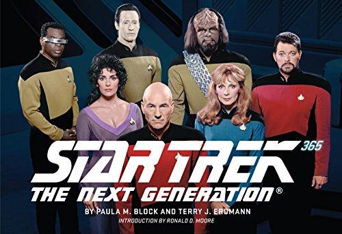 Amazon.com: Star Trek: The Next Generation 365 eBook: Block, Paula M.,  Erdmann, Terry J., Moore, Ronald D., Moore, Ronald D.: Kindle Store