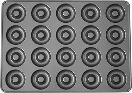 Wilton Perfect Results - Molde antiadherente para donut (20 cavidades)