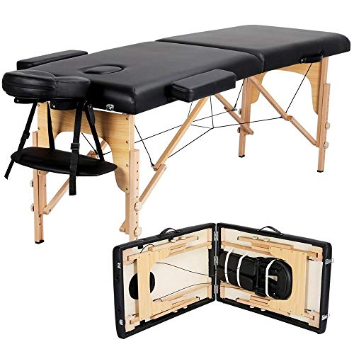 Yaheetech Massage Table Portable Massage Bed Spa Bed 84...