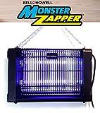 Bell + Howell MONSTER ZAPPER 2,800-Volt, 20-watts - Attracts and Kills Houseflies, Mosquitoes, Gnats - Electric Indoor Pest Control As Seen On TV (Original)