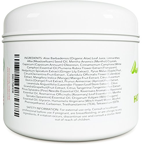 Natural Skin Tightening Cream - Anti Aging Body Treatment for Women + Men - Anti Cellulite Stretchmark + Scar Remover - Muscle Pain Relief - Antioxidant Hot Cream Gel Moisturizer For Dry + Saggy Skin 6
