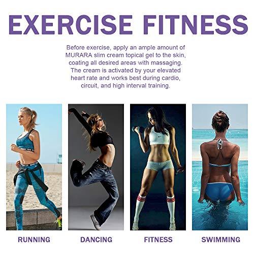 Hot Cream Cellulite Treatment, Belly Fat Burner for Women & Women,Anti-Cellulite Workout Sweat Cream for Waist,Abdomen,Thight and Buttocks,Weight Loss Firming Cream,2 Fl Oz 6