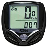 KEWAYO Multi Functions Wireless Cyclocomputer, Waterproof Cycling Bike Odometer Bycicle Speedometer