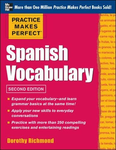 Spanish Vocabulary (Practice Makes Perfect) (Spanish Edition)