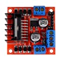 HiLetgo 5pcs L298N Motor Driver Controller Board Module Stepper Motor DC Dual H-Bridge for Arduino Smart Car Power UNO MEGA R3 Mega2560 #4