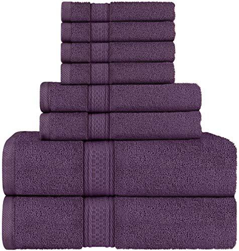 Utopia Towels - Juego de Toallas; 2 Toallas de baño, 2 Toal