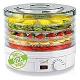 Spice Teseko Déshydrateur pour aliments, comprend 5compartiments...