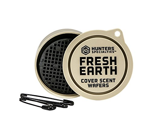 Hunters Specialties Fresh Earth Scent Wafers (3 Wafers) | Cover Scent Wafers Hunting Accessories, Cover Scent for Hunting, Scent Control Hunting Equipment, Hunting Scent Wafers (Model: 01022), Tan, 3-Pack