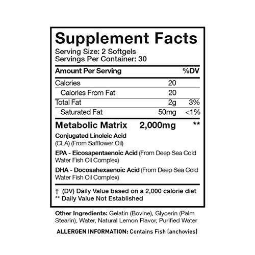 Musclesport Liposlim™ for Her 60 Soft Gels, Essential Fatty Acids (EPA & DHA), Non-Stim Fat Metabolizer, Weight Loss for Women 2