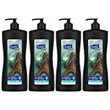 Suave Kids 3 in 1 Shampoo Conditioner Body Wash Wookiee Fresh 28 oz, pack of 4
