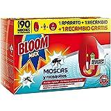 Bloom Max Insecticida Electrico Líquido contra moscas, y mosquitos común y...