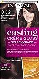 L'Oreal Paris Casting Crème Gloss Baño De Color 3102 Castaño Oscuro Helado...