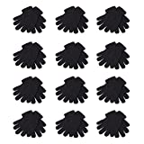 12 PAIRS OF MAGIC GLOVES - ONE SIZE FITS ALL