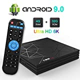 Mobipro 2020 Latest Android TV Box - Android 9, 4GB/32GB, 6K, Android TV Box, ,WiFi, LAN, USB3.0- 1 Year Warranty