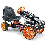 Hauck Nerf Battle Racer Pedal Go Kart, Orange/Grey/Black