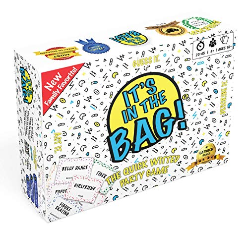 Its in The Bag!  Amazing Party Games for Adults, Family, or Large Group  Collaborative Team Building Game  Great Game Idea for Party for 10 People or More