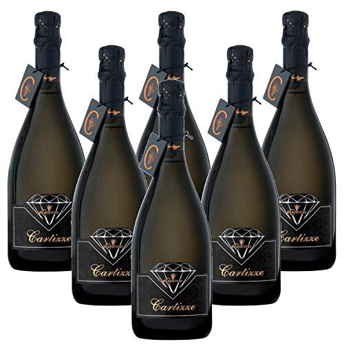 Cartizze Valdobbiadene Prosecco Superiore DOCG Al Canevon - 6 Bottiglie 0,75ml