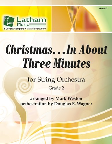 Christmas... in about Three Minutes for String Orchestra: Grade 2