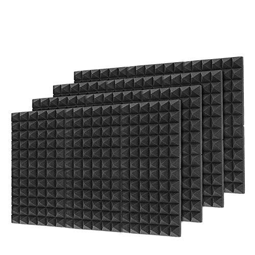 12 Packs Pyramid Tiles Acoustic Panels