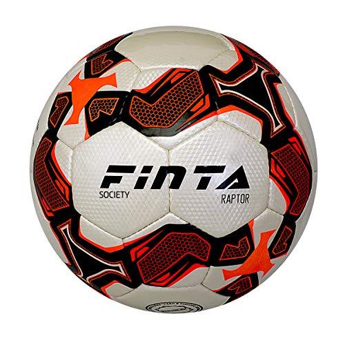 Bola de Futebol Campo Finta Profissional Raptor Cor:Laranja
