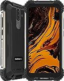 Smartphone, DOOGEE S58 Pro Android 10 Mvil Resistente 4G, Cmara Triples 16MP+Cmara Frontal 16MP, 6GB+64GB, Batera 5180mAh, 5.7 Pulgada IP68/IP69K Telefono Movil Antigolpes, NFC/GPS, Negro