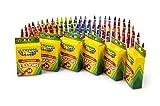 Crayola 52-2024 Crayons, School & Art Supplies, Bulk 6 Pack of 24Count, Assorted