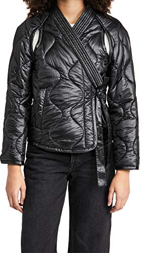 512U5JUpfoL Shell: 100% nylon Fabric: Lightweight, non-stretch quilted ripstop Fill: 100% polyester