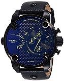 Diesel Hommes Chronographe Quartz Montre avec Bracelet en Cuir DZ7257