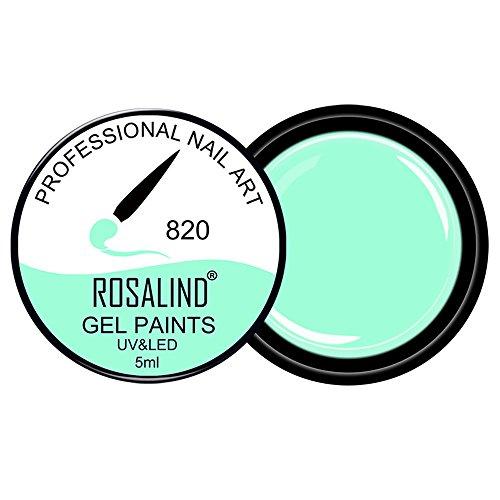 OTTATAT 2020 Newest Discount ROSALIND 5ml Glitter Multicolour Painted Gel UV LED Soak Off Nail Art Polish store nails nail polish salon near me gel fake snail colors acrylic salons design