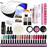 Saint-Acior Kit Poly Extension Construction Gel 20pc Vernis Semi Permanent...