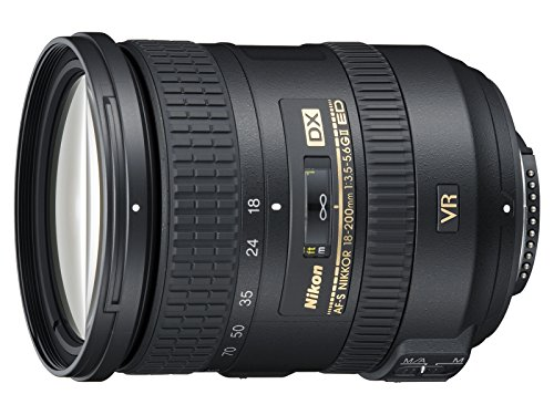 Nikon 18-200 mm f/3.5-5.6 G DX ED VR II - Objetivo para Nikon (Distancia Focal 27-300mm,...